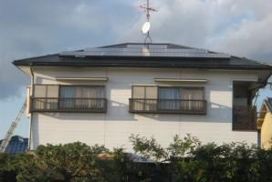 堺市 O様 HIT太陽光発電システム施工事例