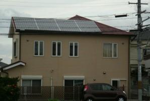 大阪府 貝塚市 N様 三菱太陽光発電システム施工事例