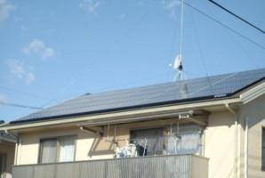 栃木県 小山市 T様 三菱太陽光発電システム施工事例
