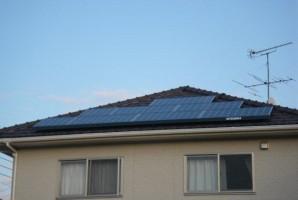茨城県S様三菱太陽光発電システム施工事例
