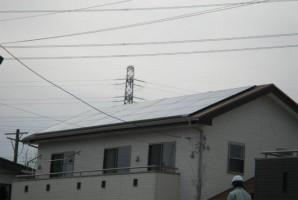 千葉県船橋市I様三菱太陽光発電システム施工事例