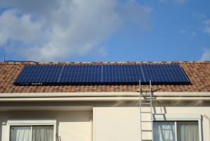 兵庫県K様 東芝太陽光発電システム施工事例