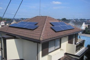 埼玉県深谷市W様 東芝太陽光発電システム施工事例