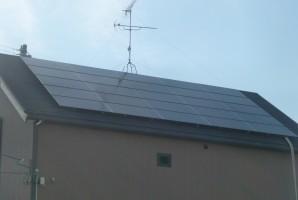 三重県 坂市 N様 三洋太陽光発電システム施工事例