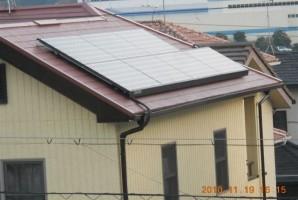 奈良県 五條市 S様 東芝太陽光発電システム施工事例