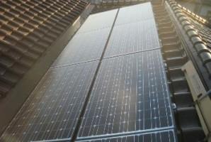 大阪府大東市 I様 三洋太陽光発電システム オール電化導入事例1