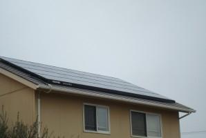 香川県N様 東芝太陽光発電システム施工事例_____お洒落なパン屋さんのお屋根に太陽光発電を設置して頂きました。お土産にパンも頂きとてもおいしかったです。1