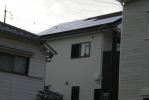 兵庫県 三田市 K様 東芝太陽光発電システム施工事例