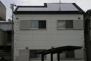 大阪府 堺市 O様 東芝太陽光発電システム施工事例