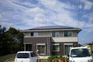 三重県 津市 Y様 三洋太陽光発電システム施工事例