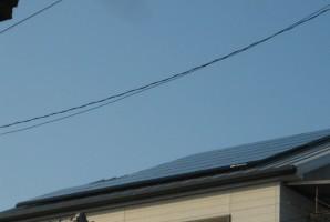 堺市 K様 HIT太陽光発電システム施工事例