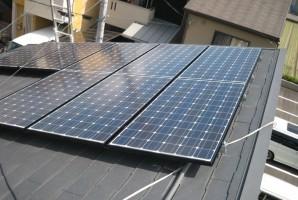 京都市 K様邸 三洋HIT太陽光発電施工事例