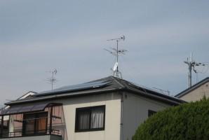 大阪府 吹田市 M様 三洋太陽光発電システムオール電化導入事例1
