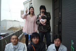 兵庫県神戸市 M様 東芝太陽光発電システム施工事例 ____太陽光発電のよく似合う、変形のお洒落な寄棟屋根に14枚設置して頂きました。