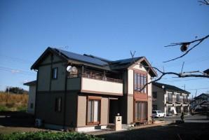 群馬県O様 東芝太陽光発電システム施工事例
