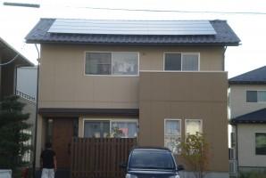福井県 福井市 O様 三洋太陽光発電システム施工事例