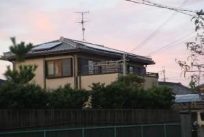 堺市 A 様 三洋HIT太陽光発電システム導入事例