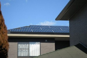 栃木県 小山市 K様 東芝太陽光発電システム施工事例